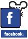 Diseño web usa el ratón redes sociales Facebook